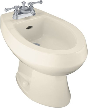Kohler K-4876-47 Amaretto Single-Hole Bidet - Almond