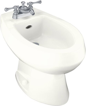 Kohler K-4876-96 Amaretto Single-Hole Bidet - Biscuit