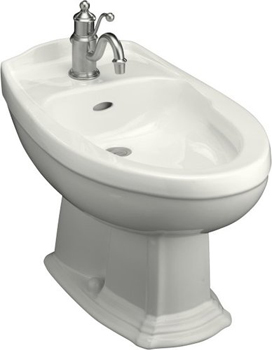 Kohler K-4898-0 Portrait Single-Hole Bidet - White