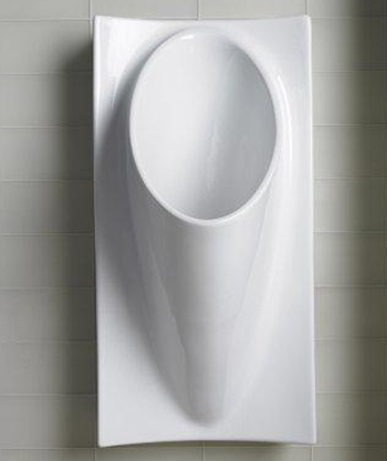 Kohler K-4918-0 Steward Waterless Urinal - White
