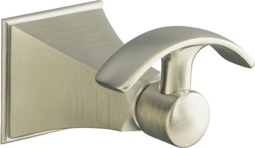 Kohler K-492-BN Memoirs Robe Hook - Brushed Nickel