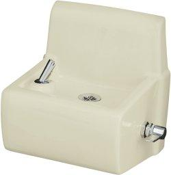 Kohler K-5264-0 Millbrooke Drinking Fountain - White (Pictured in Almond)
