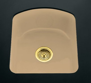 Kohler K-5848-2U-33 Napa Undercounter Entertainment Sink - Mexican Sand