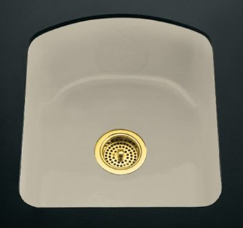 Kohler K-5848-2U-G9 Napa Undercounter Entertainment Sink - Sandbar