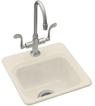 Kohler K-6579-1-47 Northland Entertainment Sink - Almond
