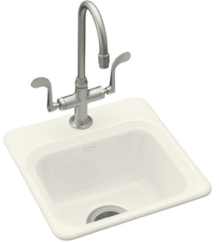 Kohler K-6579-1-96 Northland Entertainment Sink - Biscuit