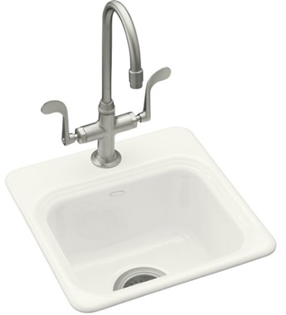 Kohler K-6579-1-7 Northland Entertainment Sink - Black (Pictured in White)