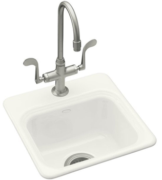 Kohler K-6579-1-0 Northland Entertainment Sink - White