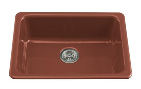 Kohler K 6585 Ka Single Basin Cast Iron Kitchen Sink From The