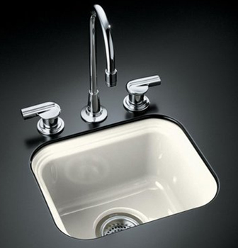 Kohler K-6589-U-96 Northland Undercounter Entertainment Sink - Biscuit