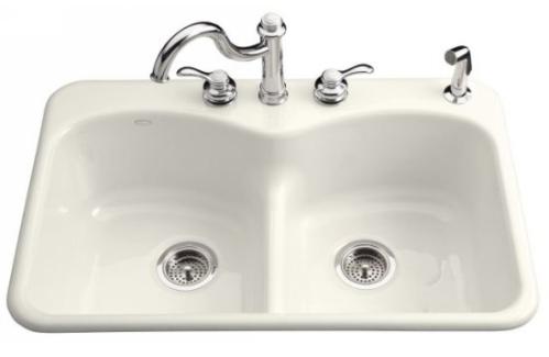 Kohler K 6626 1 0 Langlade Smart Divide Kitchen Sink