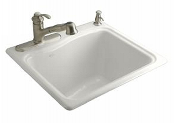 Utility Sink Accessories : ... Utility Self Rimming Sink - White (Faucet and Accessories Not Included