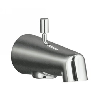 Kohler K-6856-CP Wall-Mount Diverter Bath Spout - Polished Chrome