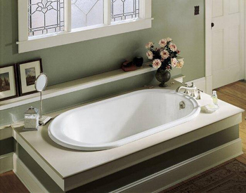Kohler K-711-0 Iron Works Bath - White