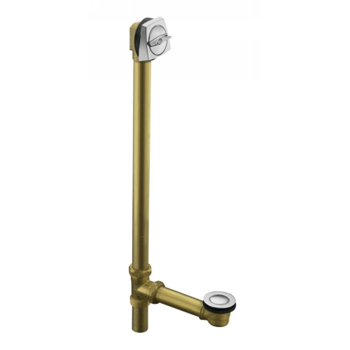 Kohler K-7166-AF-AF Adjustable Pop-Up Drain with Tailpiece - French Gold (Pictured in Chrome)