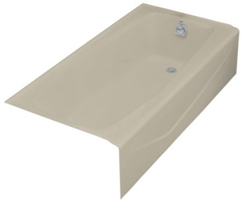 Kohler K-716-G9 Villager? 5' Bath With Right Hand Drain - Sandbar