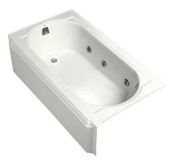 Kohler K-723-H2-0 Memoirs 5' Whirlpool - White