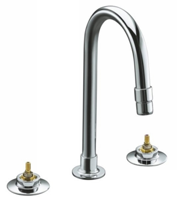 Kohler K-7304-K-CP Triton Widespread Lavatory Faucet Only Base Faucet - Polished Chrome