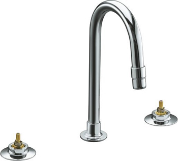 Kohler K-7313-K-CP Triton Widespread Lavatory Faucet Only Base Faucet - Polished Chrome