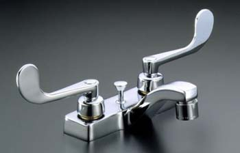 Kohler K-7401-5A-CP Two-Handle Centerset Lavatory Faucet - Polished Chrome
