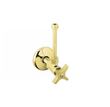 Kohler K-7605-P-PB Lavatory Supplies (Pair) - Polished Brass