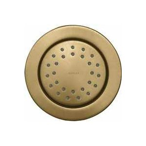 Kohler K-8013-BV WaterTile Round 27-Nozzle Bodyspray with Stimulating Spray - Brushed Bronze