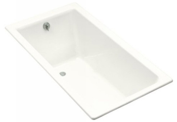 Kohler K-804-0 Kathryn 5.5 Foot Bath - White