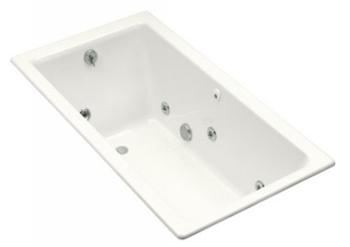 Kohler K-809-H2-0 Kathryn 5.5 Foot Whirlpool - White