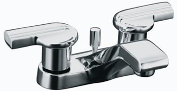 Kohler K-8201-K-CP Taboret Centerset Lavatory Base Only Faucet - Polished Chrome