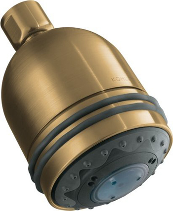 Kohler K-8506-BV MasterShower Invigorating 3-Way Showerhead - Brushed Bronze
