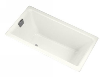 Kohler K-855-0 Tea-For-Two 5.5 Foot Bath - White