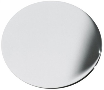 Kohler K-8830-BK Kitchen/Lavatory Sink Hole Cover - Black (Pictured in Polished Chrome)