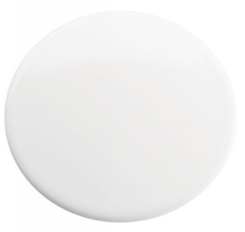 Kohler K-8830-0 Kitchen/Lavatory Sink Hole Cover - White