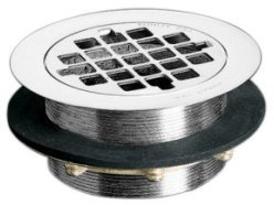 Kohler K-9132-SN Shower Drain - Polished Nickel