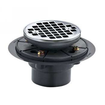 Kohler K-9135-2BZ Round Design Tile-in Shower Drain - Oil Rubbed Bronze (Pictured in Chrome)