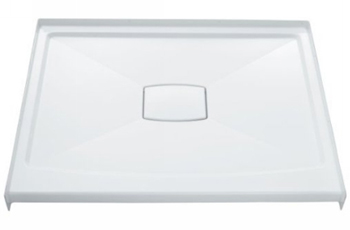 Kohler K-9393-0 Archer 42x42 Shower Receptor With Removable Drain Cover - White