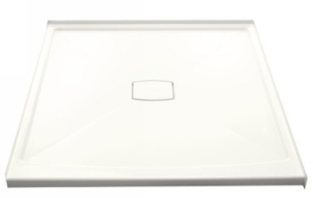 Kohler K-9395-0 Archer 60x60 Shower Receptor With Removable Drain Cover - White