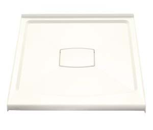 Kohler K-9396-96 Archer Shower Receptor With Removable Drain Cover - Biscuit