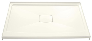 Kohler K-9479-96 Archer Shower Receptor With Removable Drain Cover - Biscuit