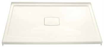Kohler K-9479-0 Archer Shower Receptor With Removable Drain Cover - White