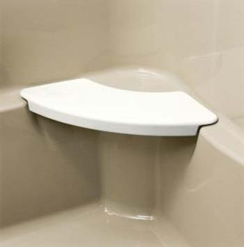 Kohler K 9499 0 Removable Shower Seat White