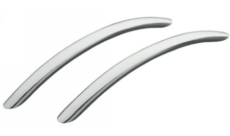 Kohler K-9669-BN Riverbath Grip Rails - Brushed Nickel (Pictured in Polished Chrome)