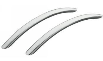 Kohler K-9669-BN Riverbath Grip Rails - Brushed Nickel (Pictured in Polished Chrome)