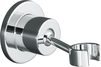 kohler k975cp purist adjustable wallmount handshower holder polished chrome