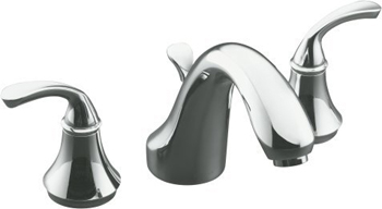Kohler K-T10292-4-CP Forte Two Handle Roman Tub Faucet Trim Kit with Diverter Spout - Polished Chrome