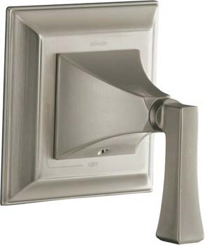 Kohler K-T10423-4V-G Memoirs One Handle Volume Control Valve Trim - Brushed Chrome (Pictured in Brushed Nickel)