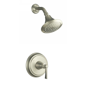 Kohler K-T11078-4-BN Archer One Handle Shower Only Faucet Trim Kit - Brushed Nickel