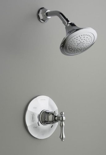 Kohler K-T13493-4-CP Rite-Temp� Shower Faucet Trim from the Kelston Collection - Polished Chrome