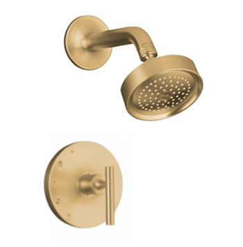 Kohler K-T14422-4-BV Purist One Handle Shower Only Faucet Trim Kit - Brushed Bronze