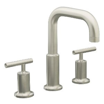 Kohler K-T14428-4-BN Two Handle Roman Tub Faucet Trim Kit - Brushed Nickel